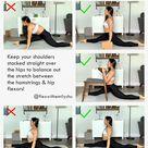 The Secret to Front Splits   Fix Your Upper Body Placement for Better Split Progress