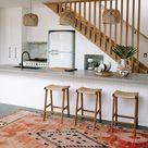 Un tapis bohème dans la cuisine | Home remodeling, House interior, Home