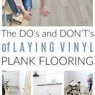 How to Lay DIY Vinyl Flooring - Playroom Makeover Update