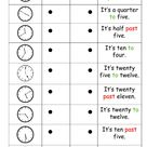 Time online exercise for primary 4