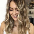 Light Brown Honey Blonde Lace Front Wig, Ombré Color Melt Human Hair Wig, 150 Density Hair