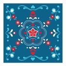 Rosemaling Pattern