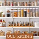 OCD  Kitchen Organization