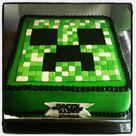 Minecraft Cake Creeper