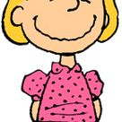 Sally Brown.Charlie Brown's younger sister who has a crush on Linus; often complains about or overreacts to situations.