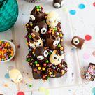 Bunter Geburtstags Kuchen