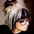 Black White Hair