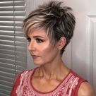 Short Pixie Hairstyles for Women over 40 with Fine Hair