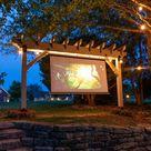How To Build A DIY Pergola Hammock Stand / Outdoor Projector Screen