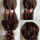 Easy Wedding Hairstyles To Try Yourself At Home - Event Planning Ideas, Wedding Planning Tips | BookEventz Blog