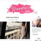 Rosemarie - Wordpress Theme Blog by LucaThemesCom on @creativemarket