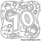 205+ Geburtstag Ausmalbilder kostenlos zum Ausdrucken