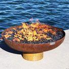 Font O' Fire Sculptural Fire Bowl   30