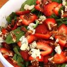 Strawberry Spinach Salads