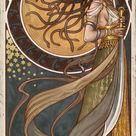 Medusa, an art print by Aly Fell