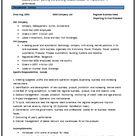 Diploma Mechanical Engineering Resume Format