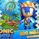 Sonic Dash passe la barre des 500 millions de téléchargements