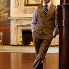 Tweed Waistcoat and Pants