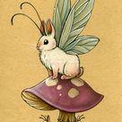 BunnyFly by Katie W on DeviantArt