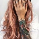 52 Charming Rose Gold Hair Colors: How to Get Rose Gold Hair - Glowsly