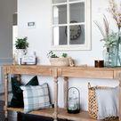 Console Table Decor | DIY Easy Home Decor | Everett Console Table
