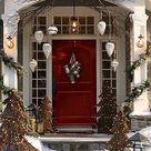 Christmas Front Doors