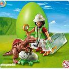 Goedkoop  Playmobil Ei Onderzoeker met baby-spinosaurus - 4925  kopen bij