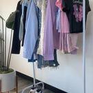 spring clothing rack 🤍