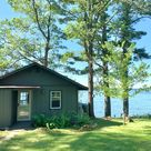 Best View on Long Lake! - Cottages for Rent in Stone Lake, Wisconsin, United States