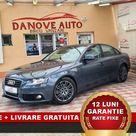 Audi A4 Revizie + Livrare GRATUITE, Garantie 12 Luni, RATE FIXE, 2.0 TDI, 2008, 143 Cp 7699€ – Danove Interauto