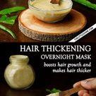 OVERNIGHT ALOE HAIR THICKENING MASK - The Little Shine