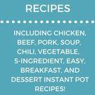 101 Dairy free Gluten free Instant Pot Recipes