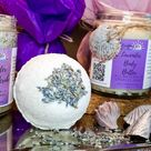 Luxe Lavender Bath Set