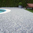 Poolumrandung aus italienischem Steinteppich aus Marmor | homify