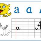 Affichage écriture Alphas/ cursive et Affichages Ludo