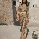 """ZIMMERMANN on Instagram: """"New Arrivals: The Brighton Pocket Shirt, Ruched Side Bikini & Wide Leg Pants with the Fortune Sunglasses and Ric Rac Belt, coming soon.…"""""""