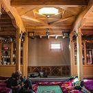Interior view of Wakhi Pamiri House in Gulmit Village Gojal Hunza, Pakistan  .  Instagram : @taseerbeyg