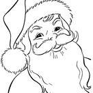 Print Free Santa Claus Coloring Pages This Christmas