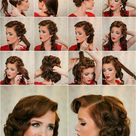 Stylish Retro Hairstyle Tutorials for Women - BeautyFrizz