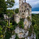 Lichtenstein Castle, Black Forest, Germany Photography, Swabian Alps, Romantic Castle Art, Medieval, Fantasy, Fine Art Print, Wall Decor