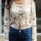Crochet Lace Tops