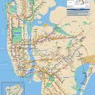 New York Subway Map Puzzle
