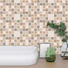 Mosaic Style Self Adhesive Wall Decor