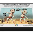 Goschen and Ritchie, the Champion Weight Lifters, Now Appearing with Terrific Success. 1000 Piece Puzzle. XCF136718 Goschen and Ritchie, the Champion.