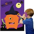 Amazon.com: Funnlot Halloween Party Games for Kids Pin The Eye on The Monster Game Halloween Party Favors and Games Halloween Halloween Party Games Activities Halloween Pin The Tail (Pin The Eye on The Monster) : Home & Kitchen