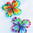 How to Make Classic Coffee Filter Butterflies