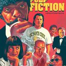 Pulp Fiction by Paul Gates - Home of the Alternative Movie Poster -AMP-
