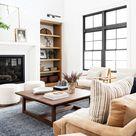 17 Modern Farmhouse Living Room Designs