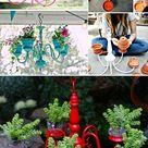 Die 60 besten DIY Dekorationen für Ihre Terrassen! - Balkon, Terrassen - ZENIDEEN