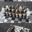 Custom Alien vs. Predator Chess Set Might Be Coolest Yet